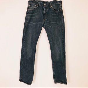Levi's 501 Button Fly Jeans - 34/34 Men's